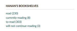 Goodreads: رفوف عصريّة لكتبك!7965900883894883