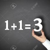 كيفَ ألهمتني الرياضيّات أنَّ 1+1=3 ؟