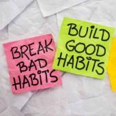 اكسب عادات جيدة و تخلص من السيئة