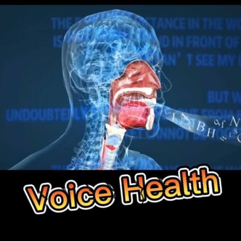 ما هو دور الصحة و التغذية على صحة الصوت؟