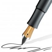 اكتب بخط مائل